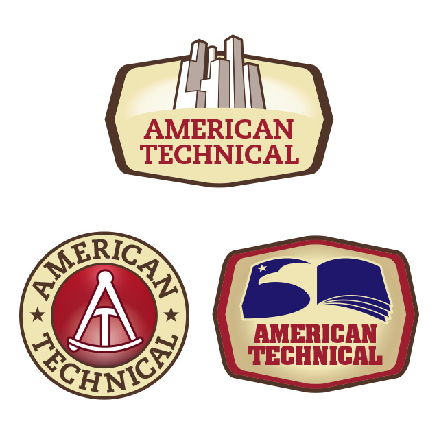american technical identity visuals